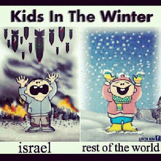 Gaza: Kids in the winter
