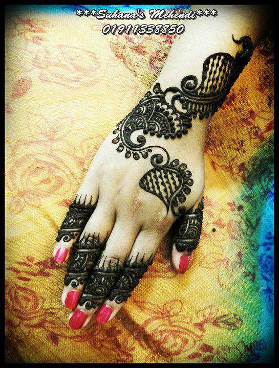 Bridal Mehndi Design 2012