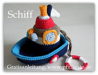 Schiffchen, Boot