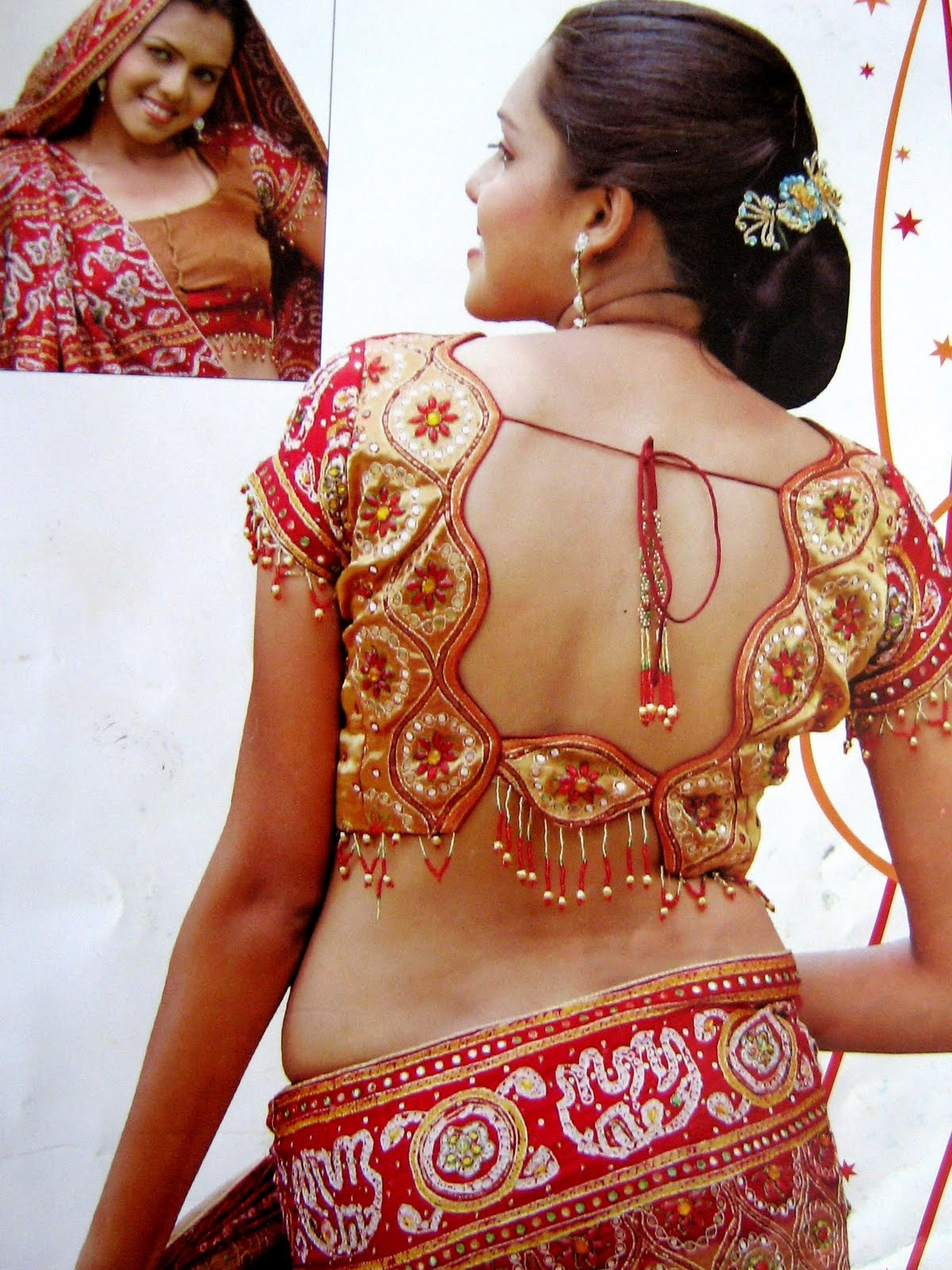 Indian Ladies Blouse Back Design 66
