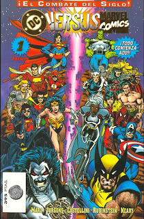 Crossover DC vs Marvel Comics