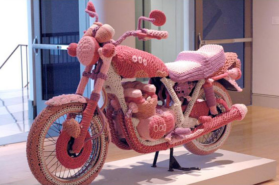 Trip to WeeMac Knit+motorcycle