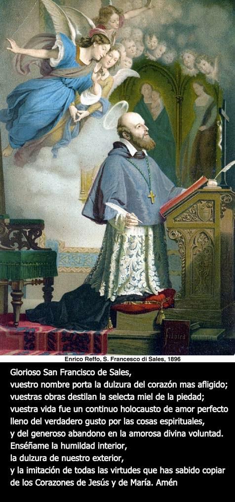 Santo Obispo San Francisco de Sales_Santo Patrono de los Periodistas y Escritores