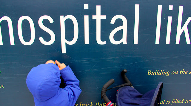 hospital-schooling -- practicing letters