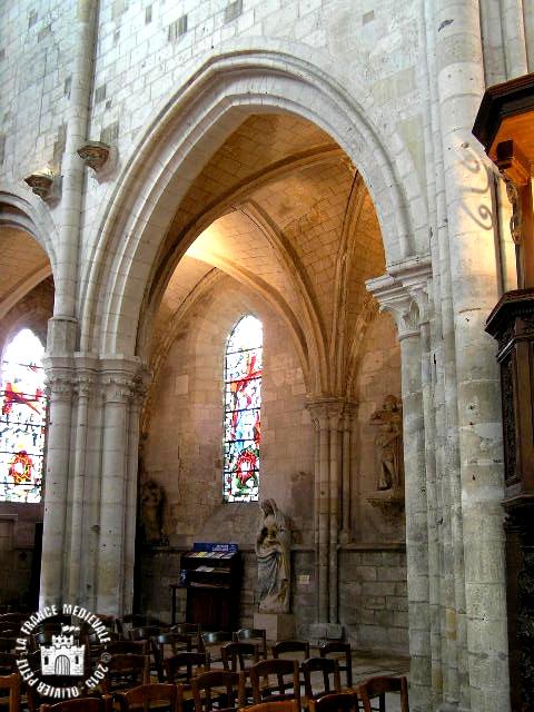 LES ANDELYS (27) - Eglise Saint-Sauveur (Intérieur)
