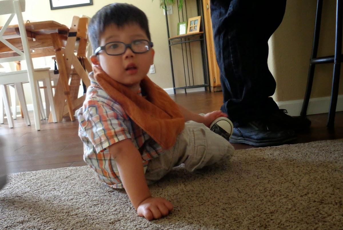 Daniel, who's three