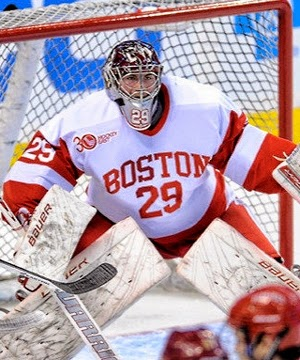 Hockey East: Edmonton Oilers Among Teams Keen On BU's Pending Free Agent Goalie Matt O'Connor