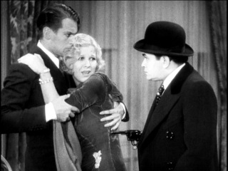 Douglas Fairbanks Jr., Glenda Farrell and Edward G. Robinson