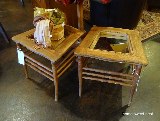 repurposing old furniture. Old Chairs Repurposed Into Side Tables Via Home Sweet Nest Repurposing Furniture
