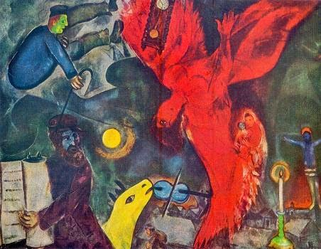 toon blogt: Retrospectieve Marc Chagall in Brussel - II Chagall Witte Kruisiging