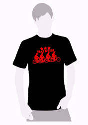 T Shirt Cotton Edisi Terhad TAKE A RIDE
