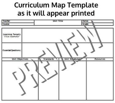 The simplified solution common core standards aligned curriculum common core standards aligned curriculum map templates maxwellsz