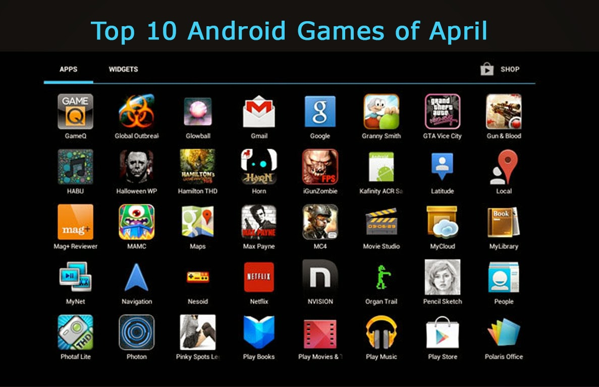 Top 10 Free Android Games