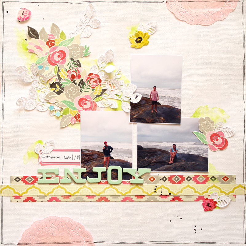 scrapbook - chile - crate paper - gargamell scrap