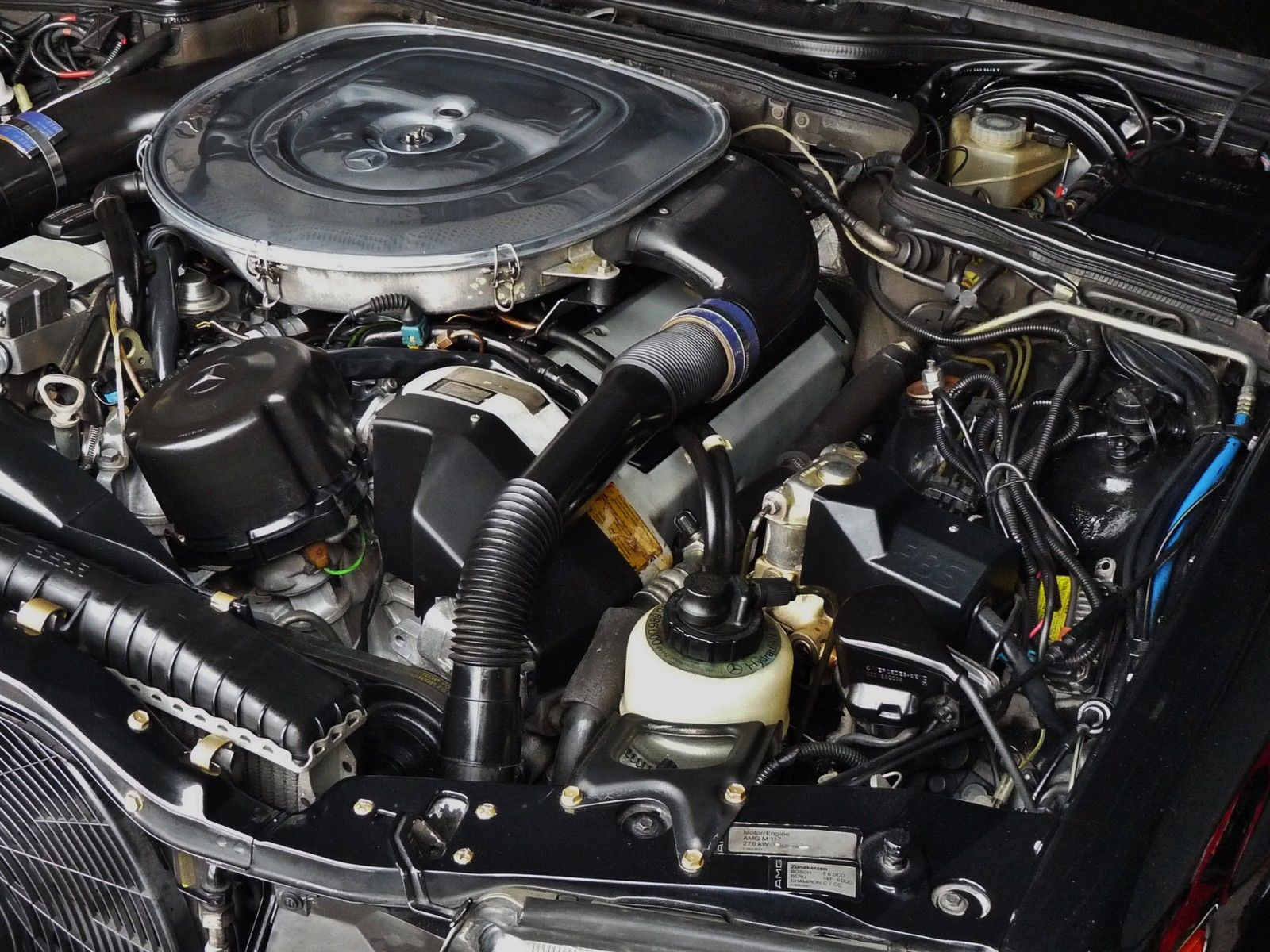 1990 Mercedes Benz 560sec Amg 6 0 Widebody Is Badass But