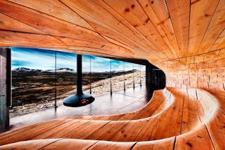 Wild Reindeer Pavilion, Hjerkinn, Dovre, Norway, wood