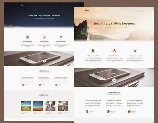 Sublime – Stunning HTML5/CSS3 Website Template