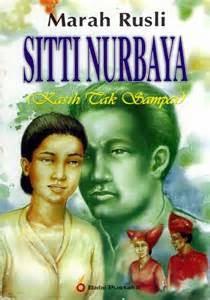 Sinopsis Novel Siti Nurbaya