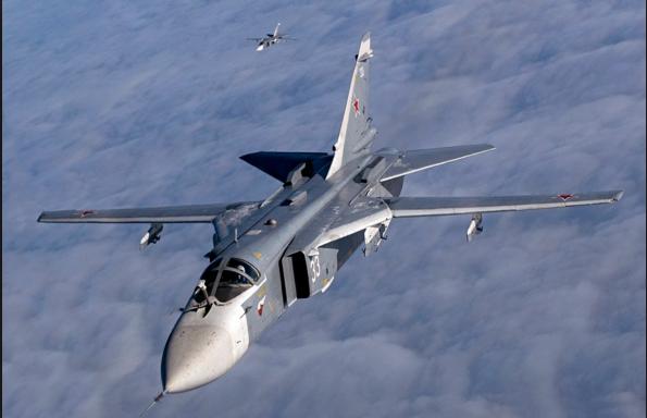 Jet Tempur Su-24 Milik Rusia