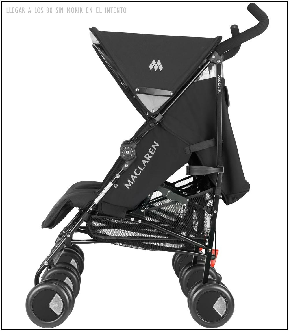 Escoger el carrito del beb llegar a los 30 sin morir en for Mclaren carro de paseo