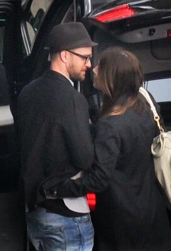 Pregnant Jessica Biel and Justin Timberlake