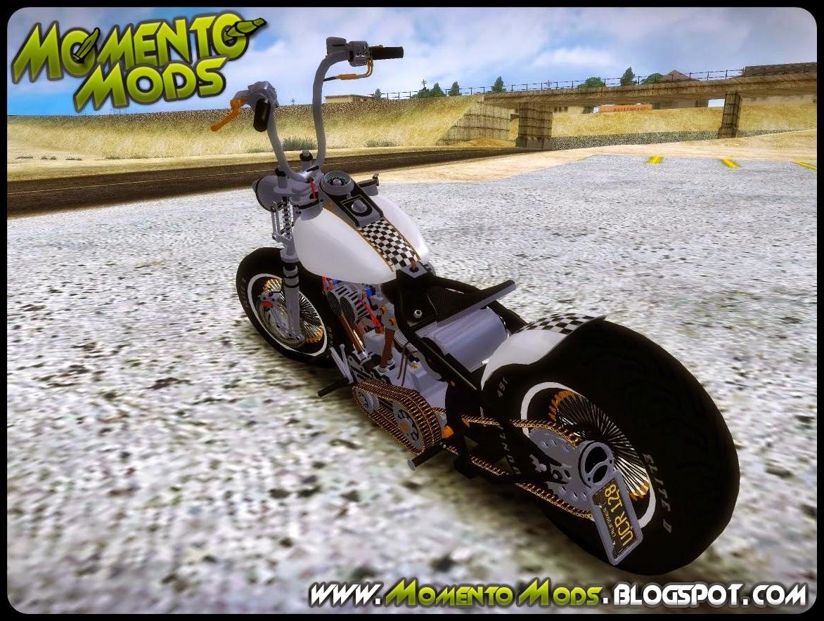 GTA SA - Harley Davidson Knucklehead