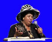 Dr Rev Gertrude Rwakatare- PASTOR AND FOUNDER OF MOUNTAINS OF FIRE CHURCHES AND MINISTRIES