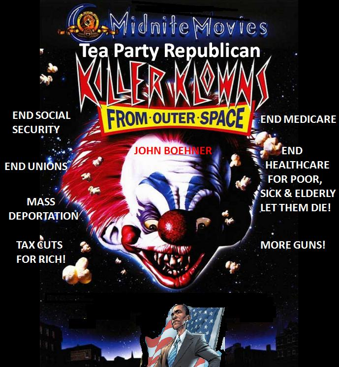 outer space Republicans Democrats