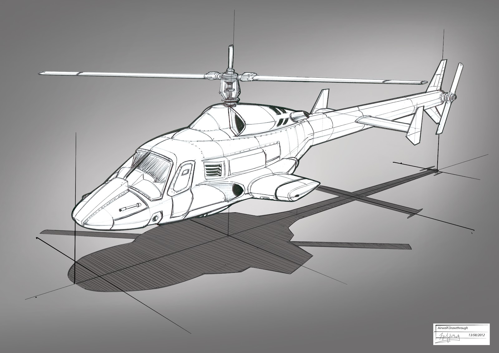Grandpriy Airwolf Ideation