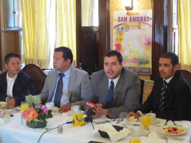 Feria de San Andrés espera recaudar 11 mdp