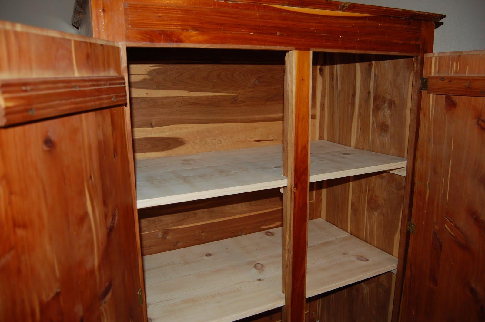 Cedar Linen Closet