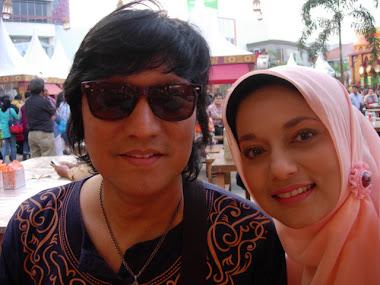 Lebih Banyak Berdua, Marissa Haque & Ikang Fawzi di Arab Food Court Kelapa Gading, Jakarta