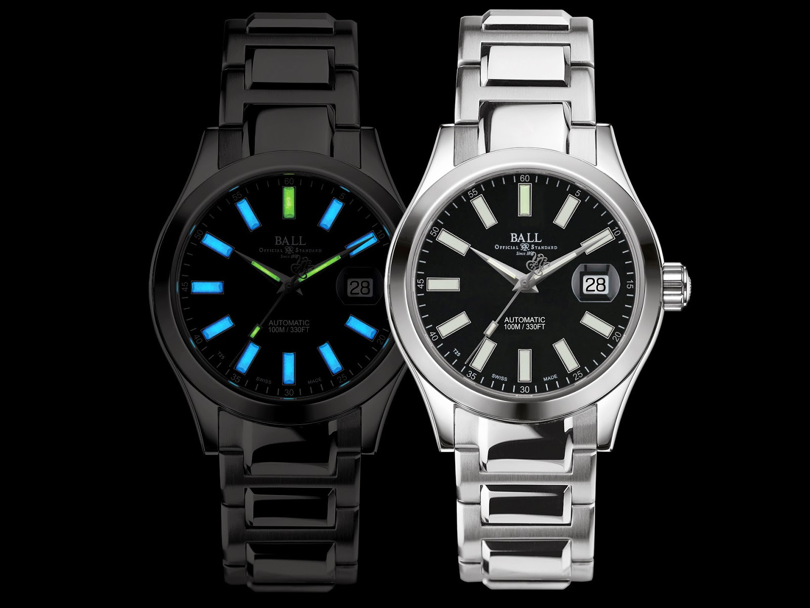 New grail watch a ball marvelight a datejust homage watch freeks for Ball watches