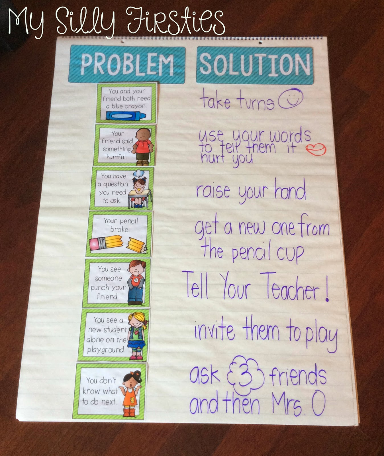teaching problems and solutions A free activity pack that demonstrates how the problem and solution of a story and sequencing are very closely related included --problem and solution anchor chart --problem and solution match up (perfect for formative assessments) -- problem and solution graphic organizer.