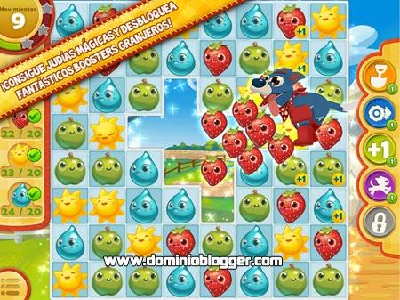 Descarga Farm Heroes Saga gratis en tu teléfono móvil con Android