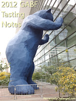 2012 GABF Tasting Notes
