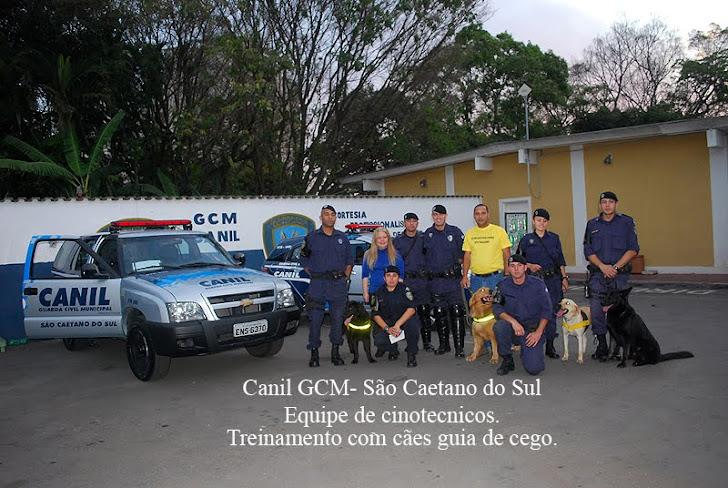 Parceria com o Canil da GCM de São Caetano - Um Grande Sucesso