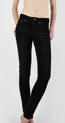 Worn Velvet Jeans