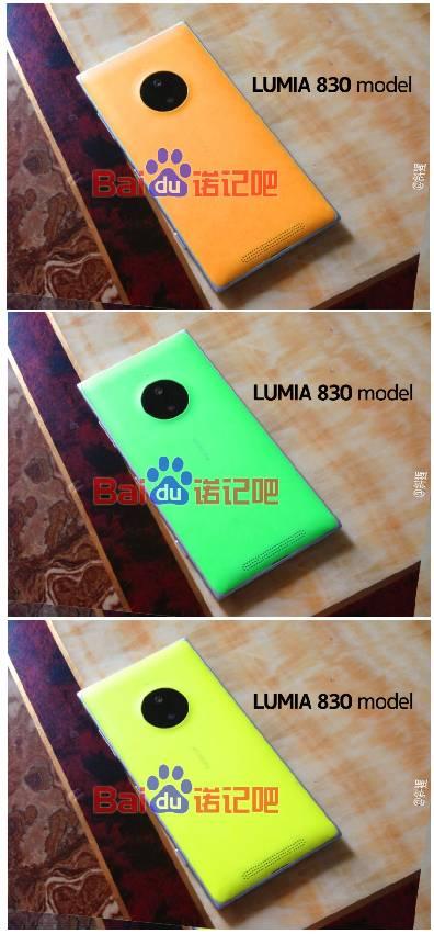 Varie colorazioni per la scocca posteriore del Nokia Lumia 830