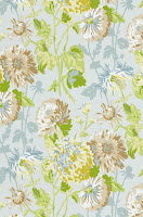 Floral Wallpaper Seaglass T4131
