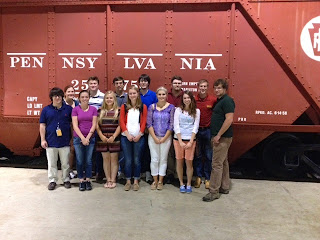 2014_Keystone_Intern_field_trip_to_Railroad_Museum