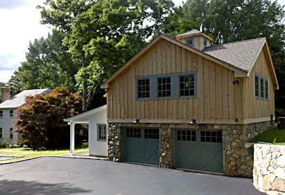 NEW GARAGE, POTTING SHED & UPPER STUDIO