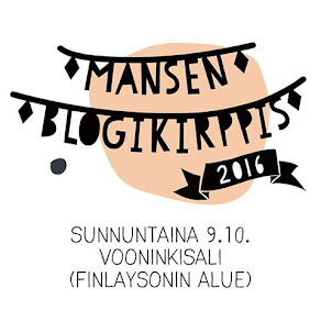 Mansen blogikirppis 9.10.2016