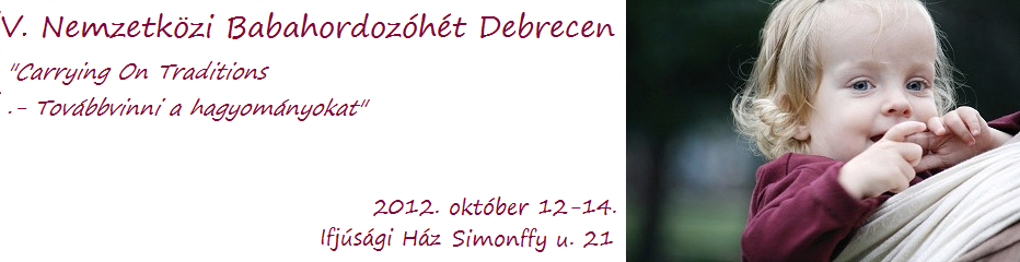 Babahordozóhét Debrecen