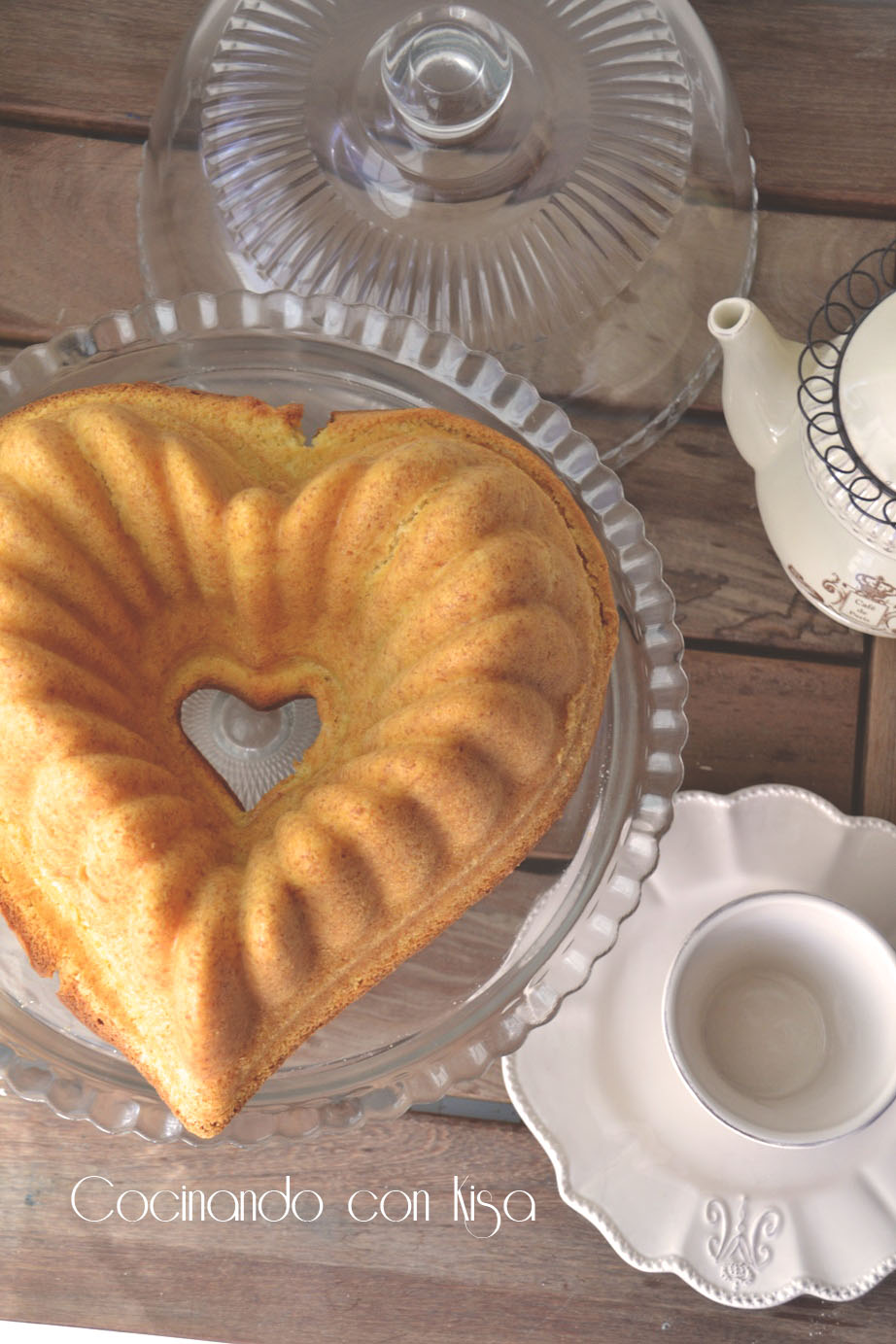 Cocinando con kisa bunt cake de yemas y lim n kitchenaid for Cocinando con kisa