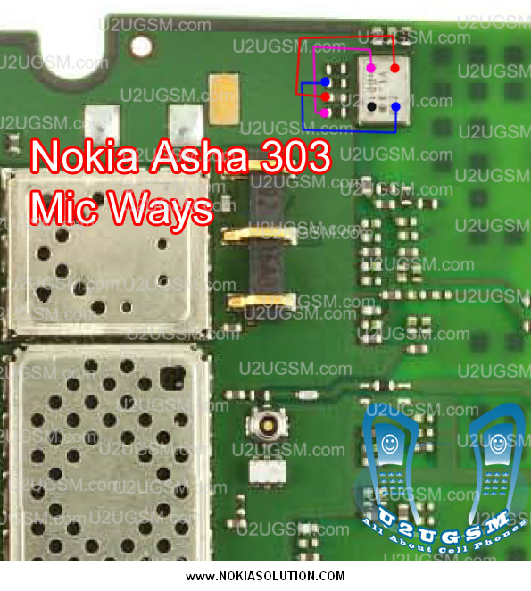 Nokia asha 303 mic problem repairing hints