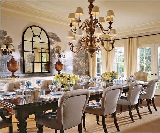 French country dining room design ideas room design ideas for Country dining room ideas