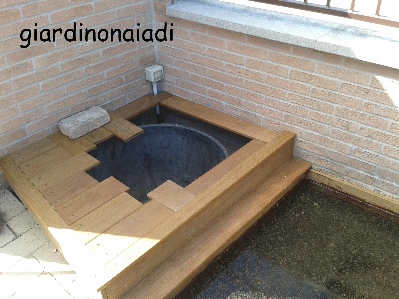 Il giardino delle naiadi un laghetto per morgana for Laghetto per esterno