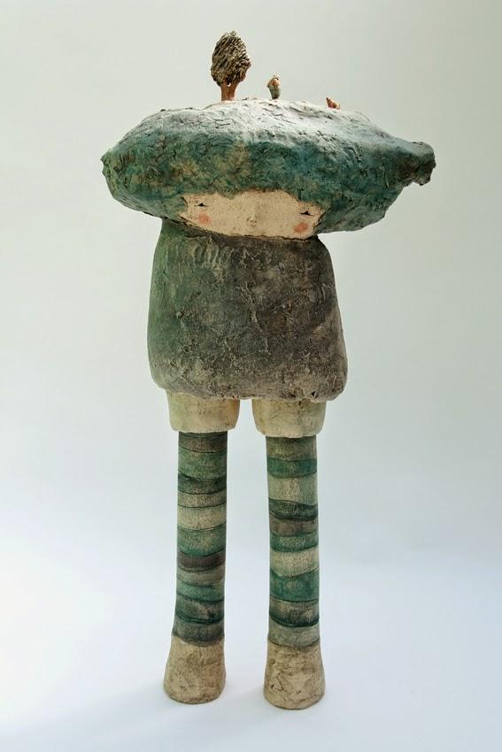 anne sophie gilloen exposition sculptures au march de c ramique contemporaine de giroussens. Black Bedroom Furniture Sets. Home Design Ideas