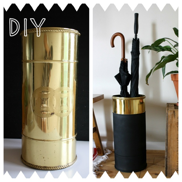 She Can T Decide Thrifted Umbrella Stand Diy
